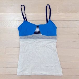Lululemon workout tank with built in bra